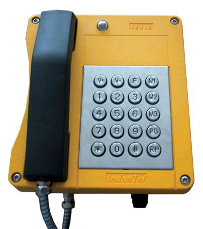 Всепогодный промышленный телефонный аппарат INDUSTEL 4FP 153 36